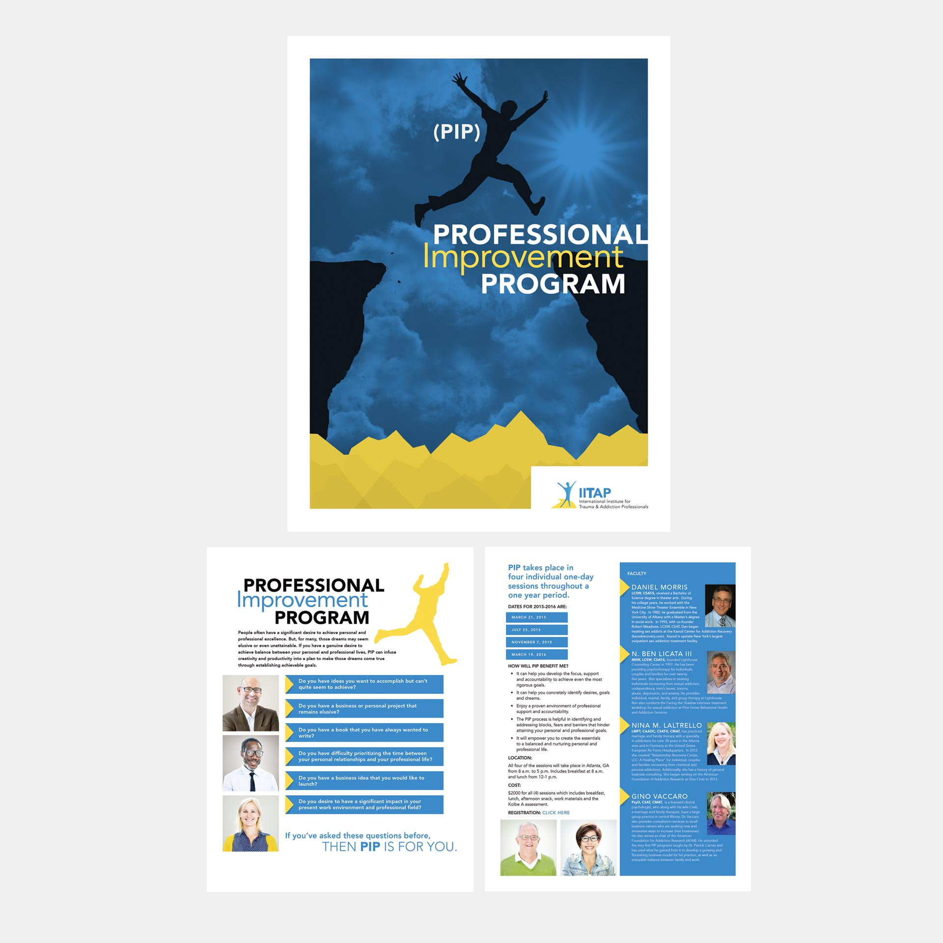 Medical Professional Improvement Program Brochure image
